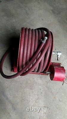 Hannay Reel Model P56an337 Industrial Hose Reel 12v Electric Motor