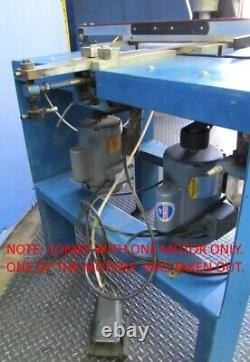Heavy Duty Industrial Double Spindle Inverted Router Machine, Baldor 110v Motor
