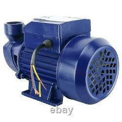Heavy-duty Electric Industrial Centrifugal Pump 1/2HP Clear Water Pump for Pools