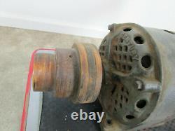 Huge Antique Vintage Century 1 hp Electric Motor Repulsion Industrial Steampunk