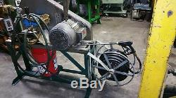 Hypro 7.5 hp industrial power washer 3 phase motor