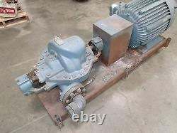 INGERSOLL DRESSER 2LLR-11 Horizontal Split Case Pump with 100hp Motor