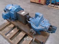INGERSOLL DRESSER 2LLR-11 Horizontal Split Case Pump with 75hp Motor