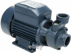 Industrial Centrifugal Electric Pump 1/2HP 36L/min Water Pump Clear Clean Water