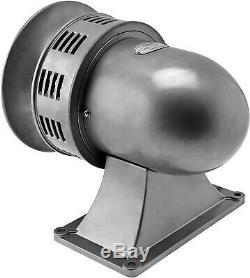 Industrial Electric Motor Air Raid Siren Alarm School/factory Loud 120v Vxs-8200