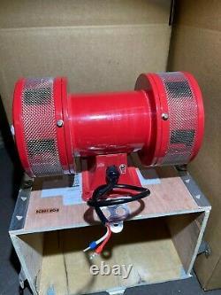 Industrial Electric Motor Air Raid Siren School/factory/alarm 120v Vxs-1488ar