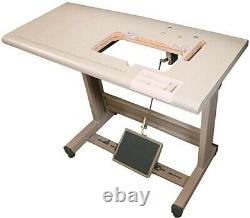 Industrial Sewing Machine Juki DDL-8100 Lockstitch Servo Motor + Table/Foot/Lamp