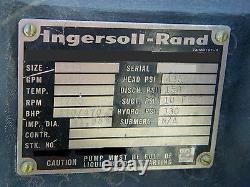 Ingersoll-Rand 8SHW Bronze Pump with530 HP Motor Unused