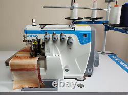 JACK E4 4 Thread Overlocker Direct Drive Motor Industrial Sewing Machine