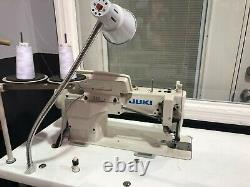 JUKI DDL-9000B/ SC920 Sewing Machine with CP board complete Table & Motor 110V