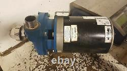Kerr 3002K946 1.25x1 End Suction Centrifugal Pump, 5.00 Impeller, 1-1/2 HP, Used