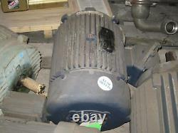 Leeson G158140 Industrial Electric Motor 215T Frame 10 HP 1755 RPM