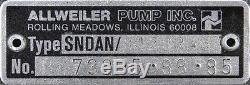 Leroy Somer SNDAN B120 R46 Submersible Hydraulic Pump Motor SNDANB120R46