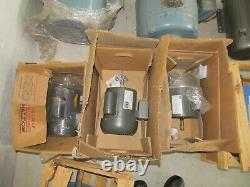 Lot Consisting of 22 Industrial Electric Motors and 3 Steam Valves NEW