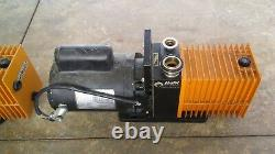 (Lot of 4) Alcatel Vacuum Pump /Franklin Electric 1/2 & 3/4 HP Motor (AS IS)