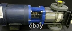 Myers Pump Model 23020040dp 304 Ss Flanged Pump 1 HP Leeson Motor New Old Stock