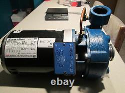 NEW SCOT PUMP 3022K201 MOTOR PUMP 16 SF With MARATHON MOTOR. 1.5 HP. 3450 RPM
