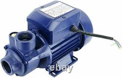 New 1/2HP Electric Industrial Centrifugal Clear Clean Water Pump Pool Pond 370W