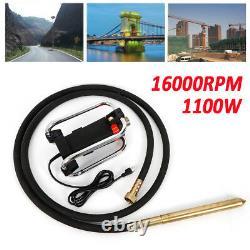 New Industrial Tool Electric Concrete Vibrator Motor 4.5M Poker 16000RPM 1100W