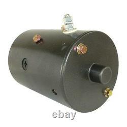 New Pump Motor For Boss Snow Plow W-8992 46-2585 46-2595 46-262 46-349 46-717