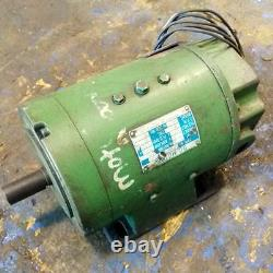 Nippon Electric Industry Co, Ltd. 0.75kw 2500rpm DC Motor Type Nd 75 D2ht