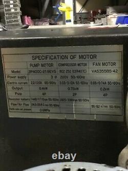 Oil Cooler, Kquwa Liquid Tuner Kmv-75-m02-a, Pump Motor Felq-8t, Used, Warranty