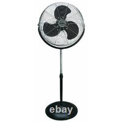 Optimus F-4184 18 In. Industrial Grade High Velocity Stand Fan