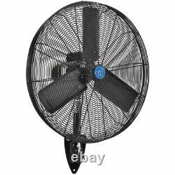 Oscillating Wall Mount Fan 30 1/2 HP 11500 CFM TEAO Motor 2-Speed Industrial