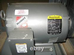 PEERLESS ELECTRIC 200M 7000 CFM Industrial Blower, 20 with 10hp, 3ph Baldor Motor