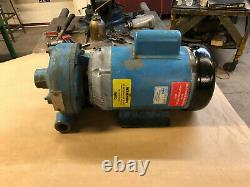 Paco Industrial Centrifugal Water Pump 40gpm withBalfor 3hp Single Phase 3450rpm