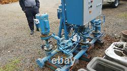 Paco Industrial Centrifugal Water Pump 80gpm withBalfor 5hp Single Phase 3450rpm