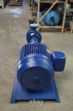 Peerless Pump 8196 3x4x9.5 316SS 75 HP 3450 RPM 650 GPM @ 300'