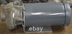 Price Pump, A100SS, 3 HP, 50 GPM, Stainless Steel Centrifugal Pump