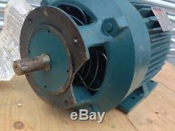 RELIANCE DUTY MASTER Double Shaft Industrial Electric Motor 3-Phase 3hp 1455rpm