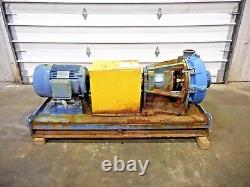 RX-3634, METSO HM150 LHC-D 6 x 4 SLURRY PUMP With 25HP MOTOR AND FRAME