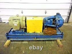 RX-3641, METSO HM100 LHC-D 4 x 3 SLURRY PUMP With 40HP MOTOR AND FRAME