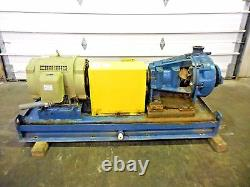 RX-3642, METSO HM100 LHC-D 4 x 3 SLURRY PUMP With 40HP MOTOR AND FRAME