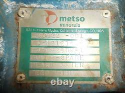 RX-3644, METSO HM75 LHC-D 3 x 2 SLURRY PUMP With 40HP MOTOR AND FRAME
