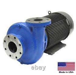 STRAIGHT CENTRIFUGAL PUMP 48,000 GPH 15 Hp 208-230/460V 4 In / 3 Out