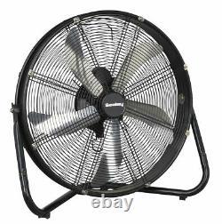 Sealey HVF20 Industrial High Velocity Floor Fan 20 230V