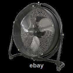 Sealey Industrial High Velocity Orbital Drum Fan 20 230V Garage Workshop DIY