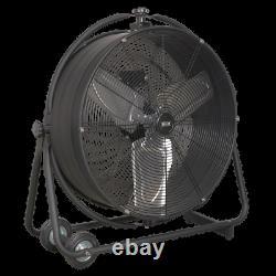 Sealey Industrial High Velocity Orbital Drum Fan 24 230V Garage Workshop DIY