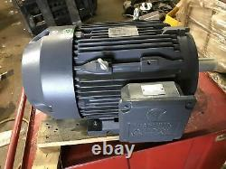 Techtop Industrial Electric Motor GR3-CI-TF-215T-4-B-D-10 TXC215T10U4B TEFC