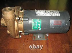 Teel 3 HP Straight Centrifugal Pump 3 Phase 3 HP Part # 4xz04