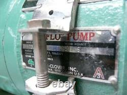 Tri-Clover TRI-FLO Pump C216MD56T-S with 1.5HP Baldor Industrial 3 Phase Motor