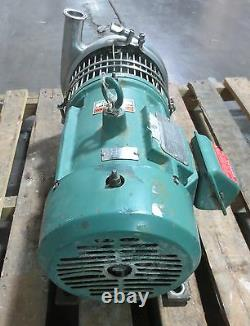Triclover Tri-flo Pump C218MD18T-S with 5 HP Reliance Electic 3 Ph Motor 1745 RPM