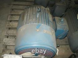 US Electrical Industrial Motor 284T Frame 25 HP 1760 RPM 230/460V