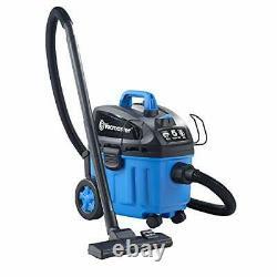Vacmaster 4 Gallon, 5 Peak HP with 2-Stage Industrial Motor Wet/Dry Floor Vacuum