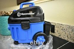 Vacmaster VF408 4 Gallon 5 Peak HP with 2-Stage Industrial Motor Wet/Dry Vacuum