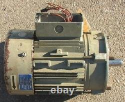 Vacuum Pump Motor with One-Way Clutch 3 hp c-face